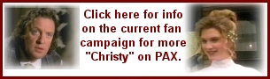 Click to find out how to let PAX know you want more Christy
